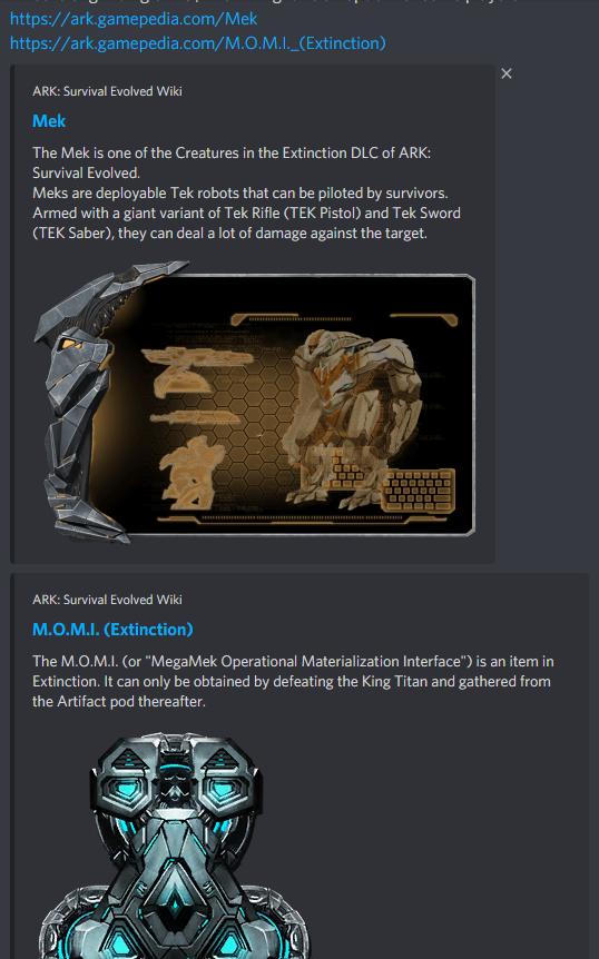 link's info