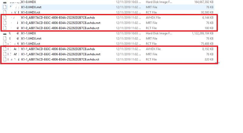 AVHDX Files