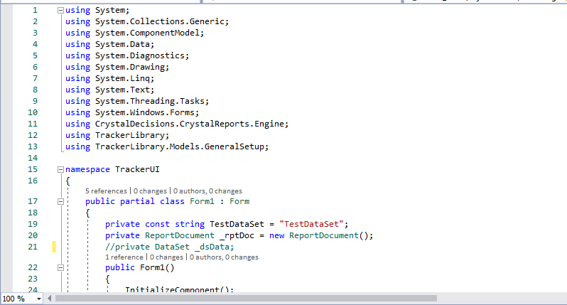 Definition of _dsData  under my click event commented out