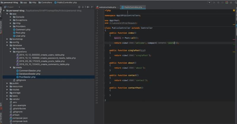 screenshot of tutorial